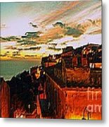 Sunset In Capoliveri - Toscany Metal Print