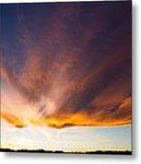 Sunset In Colorado Metal Print