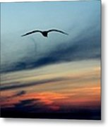 sunset in Everett Metal Print by Donald Torgerson