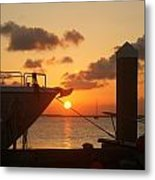 Sunset In Ga Metal Print