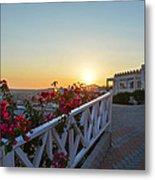 Sunset In Kos Island Metal Print