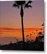 Sunset In Laguna Beach Metal Print
