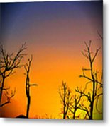 Sunset In Mesa Verde Metal Print