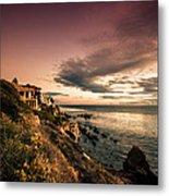 Sunset In Newport Beach Metal Print