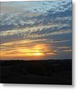 Sunset In The Distance Metal Print