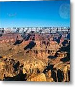 Sunset In The Grand Canyon Metal Print