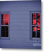 Sunset In The Windows Metal Print