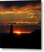 Sunset In Utah Metal Print