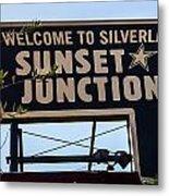 Sunset Junction Metal Print