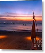 Sunset Lanta Island  Metal Print