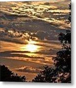Sunset Layers Metal Print