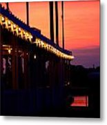 Sunset Lights  Metal Print