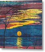 Sunset Melody Metal Print by Beverly Marshall