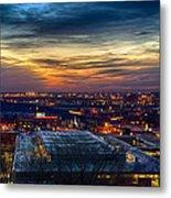 Sunset Metro Lights And Splendor Metal Print
