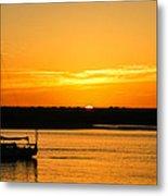 Sunset Morro Bay California Metal Print