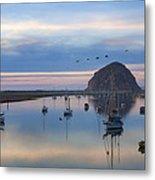 Sunset Morro Bay Metal Print