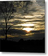 Sunset Of Life Metal Print