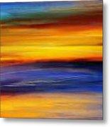 Sunset Of Light Metal Print