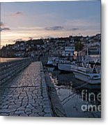Sunset - Ohrid - Macedonia Metal Print
