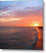 Sunset On Balboa Metal Print