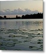 Sunset On Grand Lake Metal Print