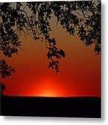 Sunset On Jekyll Island Metal Print