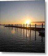 Sunset On Key Largo Metal Print