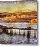 Sunset On Little Orme Metal Print