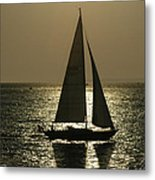 Sunset On Martha's Vineyard Metal Print