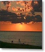 Sunset On Race Point Beach Metal Print