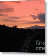 Sunset On Slievenamon  Metal Print