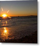 Sunset On Sunset Beach Metal Print