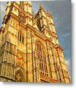 Sunset On The Abbey  Metal Print