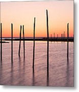 Sunset On The Bay I Metal Print