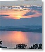 Sunset On The Isle Of Luing Metal Print