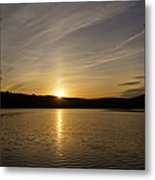 The End Of A Great Day Metal Print