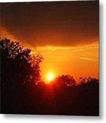 Sunset Over Blackburne 2 Metal Print
