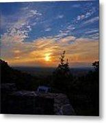 Sunset Over Boonsboro Md Metal Print