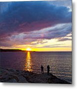 Sunset Over Canso Bay Metal Print
