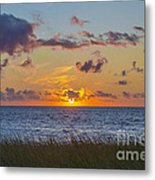 Sunset Over Cape Cod Bay Metal Print