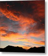 Sunset Over Estes Park Metal Print