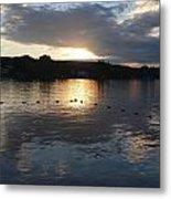 Sunset Over Lake George Metal Print