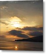 Sunset Over Loch Broom Metal Print by Ed Pettitt