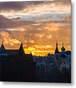 Sunset Over Old Moscow - Featured 2 Metal Print