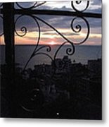 Sunset Over Puerto Vallarta Metal Print