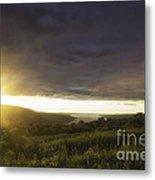 Sunset Over Skaneateles Metal Print