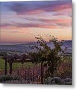 Sunset Over Sonoma Coast Metal Print