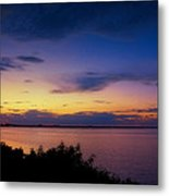 Sunset Over The Causeway Metal Print