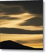 Sunset Painted Hills John Day Nm Oregon Metal Print