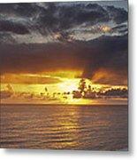 Sunset Panorama Metal Print by Andrew Soundarajan